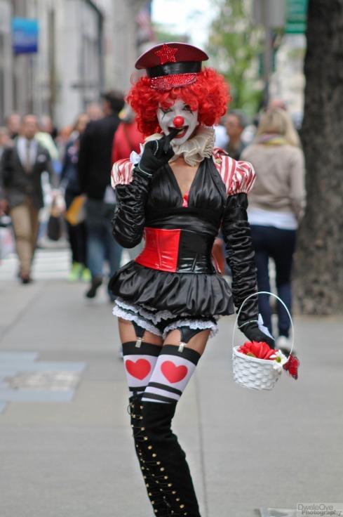 sexy clown
